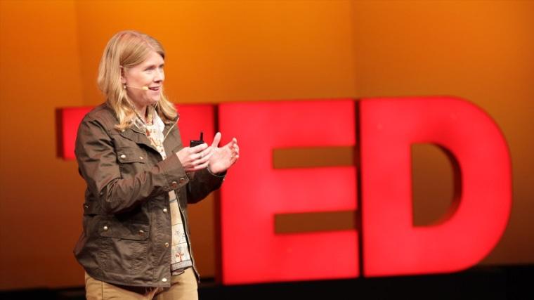 Image: Sarah Parcak, 2016 TED Prize winner
