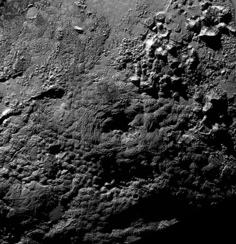 Image: Possible ice volcano on Pluto