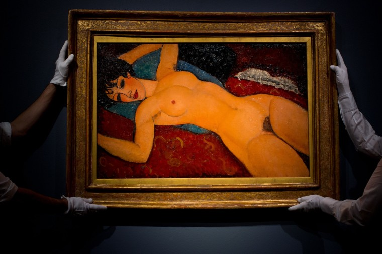 Image: Preview Of Christie's Post-war And Contemporary London Art Sale