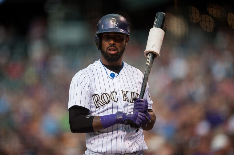 Image: Jose Reyes  of the Colorado Rockies