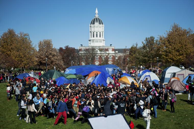Image: University of Missouri celebration