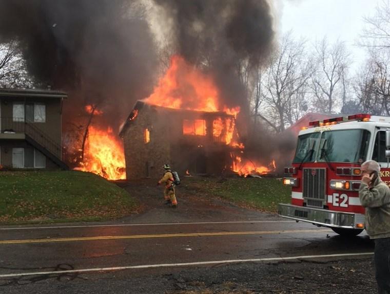 IMAGE: Akron plane crash