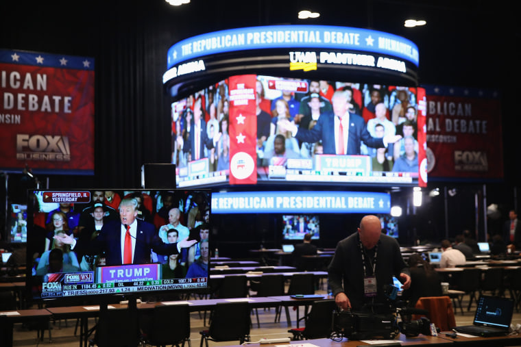 Image: Milwaukee Prepares For Fourth GOP Presidential Debate