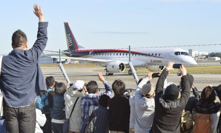 Mitsubishi Jet Test Flight Marks Japan's First New Plane in 40 Years
