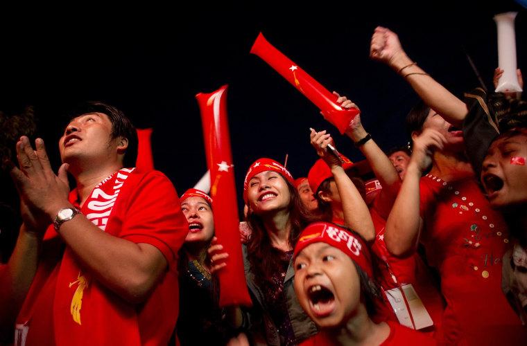 Image: TOPSHOTS-MYANMAR-POLITICS-VOTE