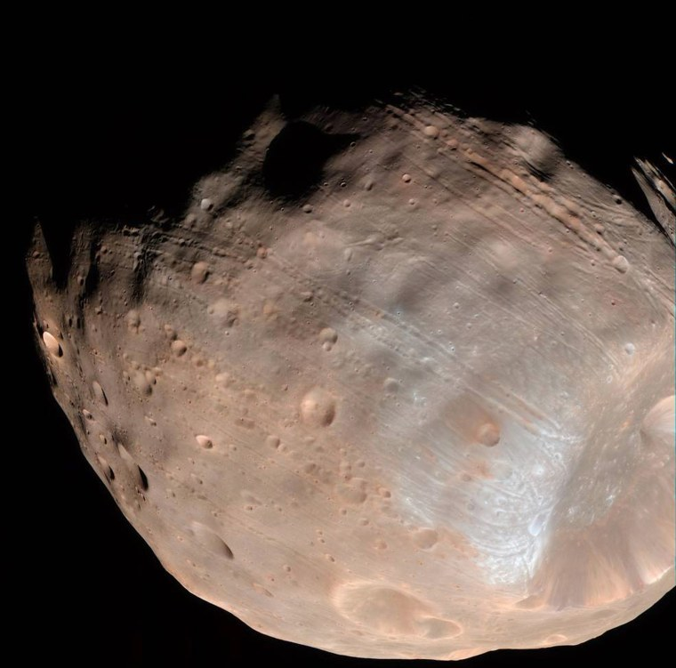 Image: Mars' moon Phobos