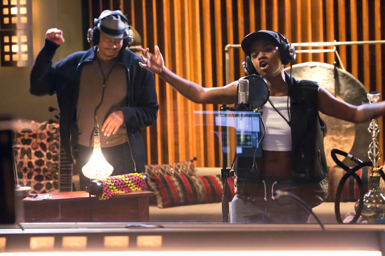 "Image: Terrence Howard and guest star Bre-Z in Fox's ""Empire"""