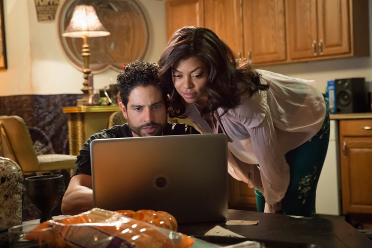 Image: Guest star Adam Rodriguez and Taraji P. Henson on Fox's Empire