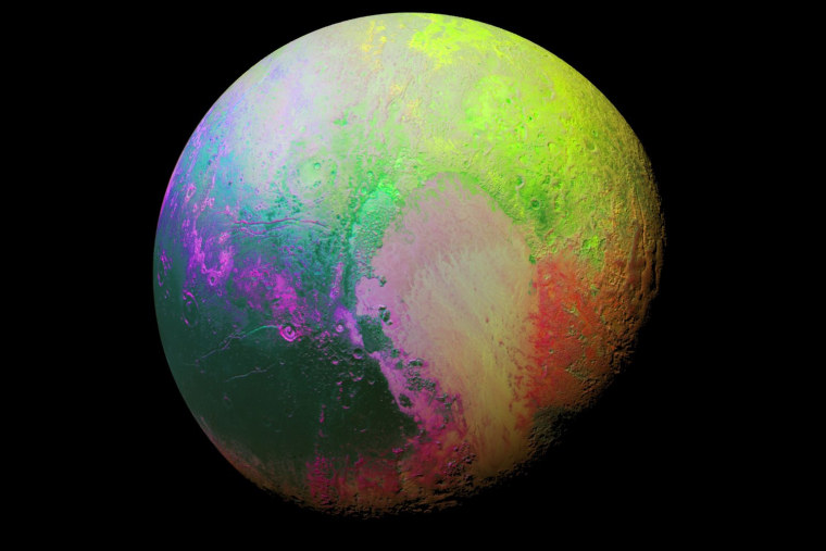 Far Out! Psychedelic Image of Pluto Emerges From NASA Analysis