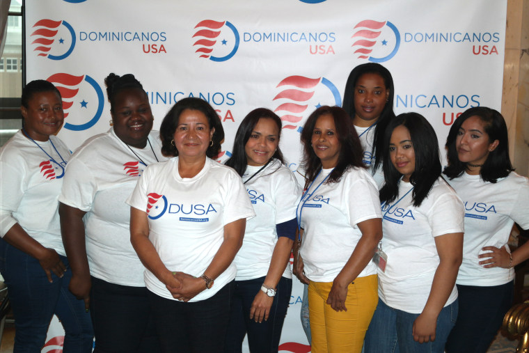 Dominicanos USA members registered more than 100,000 mostly Dominican American voters in New York and Rhode Island.