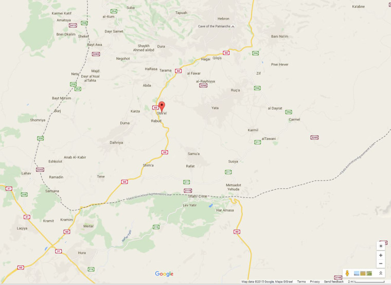 A Palestinian gunman shot dead two Israelis who were traveling in a car on Route 60 near the Otniel settlement on Friday, Nov. 13.