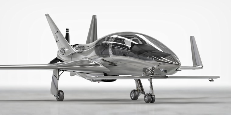 Sleek Valkyrie Private Plane Lets You Fly in Style