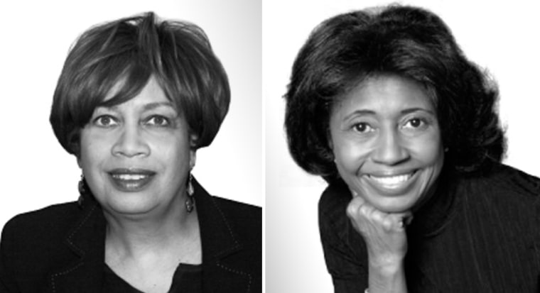 Fay Ferguson, left,  and McGhee Williams Osse, co-CEOS of Burrell Communications.