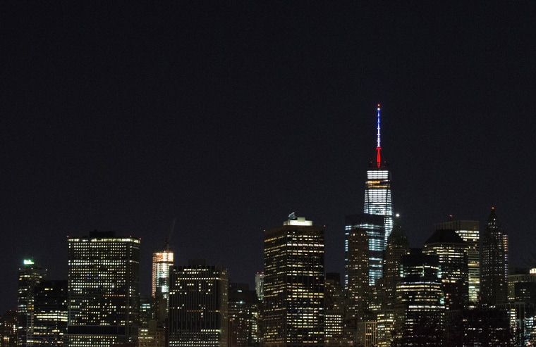 Image: Security Increased In New York City After Attacks In Paris
