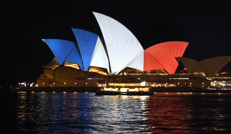 Image: AUSTRALIA-FRANCE-ATTACKS