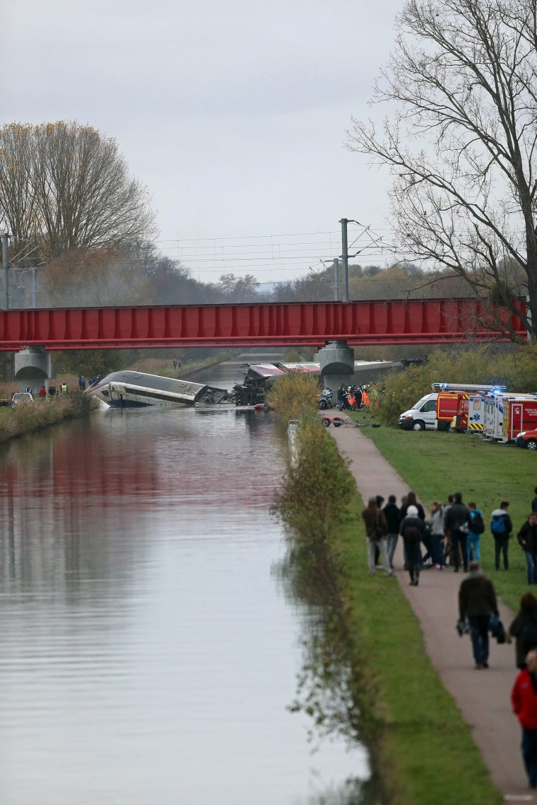 Image: French TGV Train accident near Strasbourg