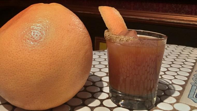 The Citrus Hunter, a grown up Jägermeister cocktail