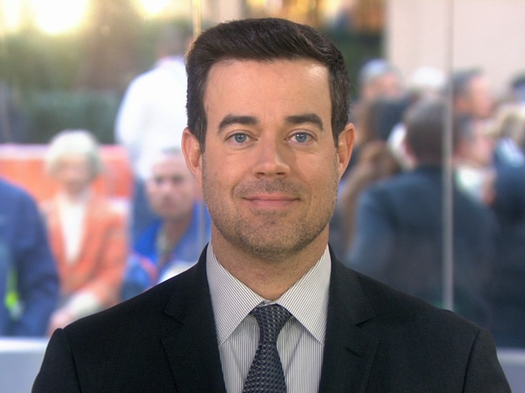 Carson Daly day 1 of No Shave November