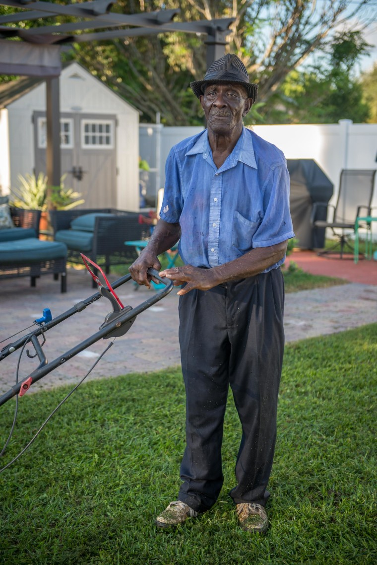John Joyce walked 6 miles to mow lawns after his truck broke down