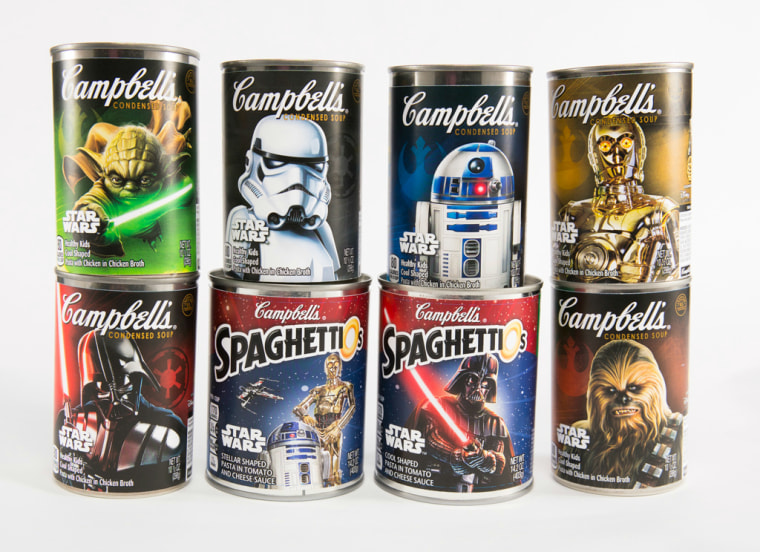 Campbell's launches new Star Wars-themed soups