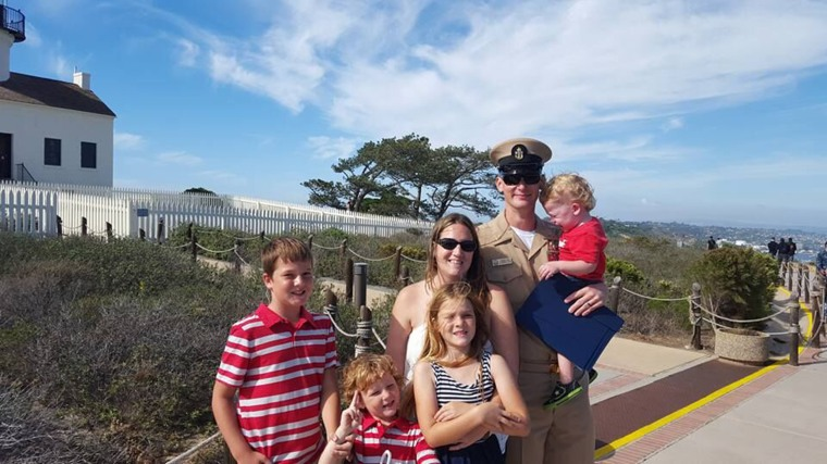 """""""I absolutely hate when family and friends say, 'my spouse is on a business trip, so I know how you feel,' or, 'I don't know how you do it,'"""" said Lindsey Furr of her husband's deployments. """"I do it because my children and my spouse count on me to hold the family together in his absence."""""""