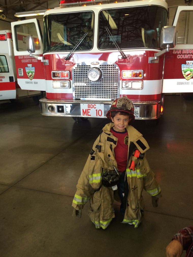 Nathaniel Stocks saved his grandmother's life during a house fire