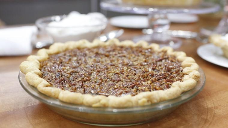 Bourbon Pecan Pie.