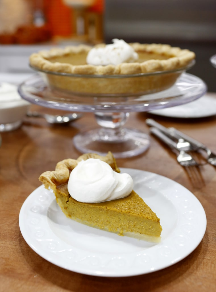 Curtis Stone's pumpkin pie.