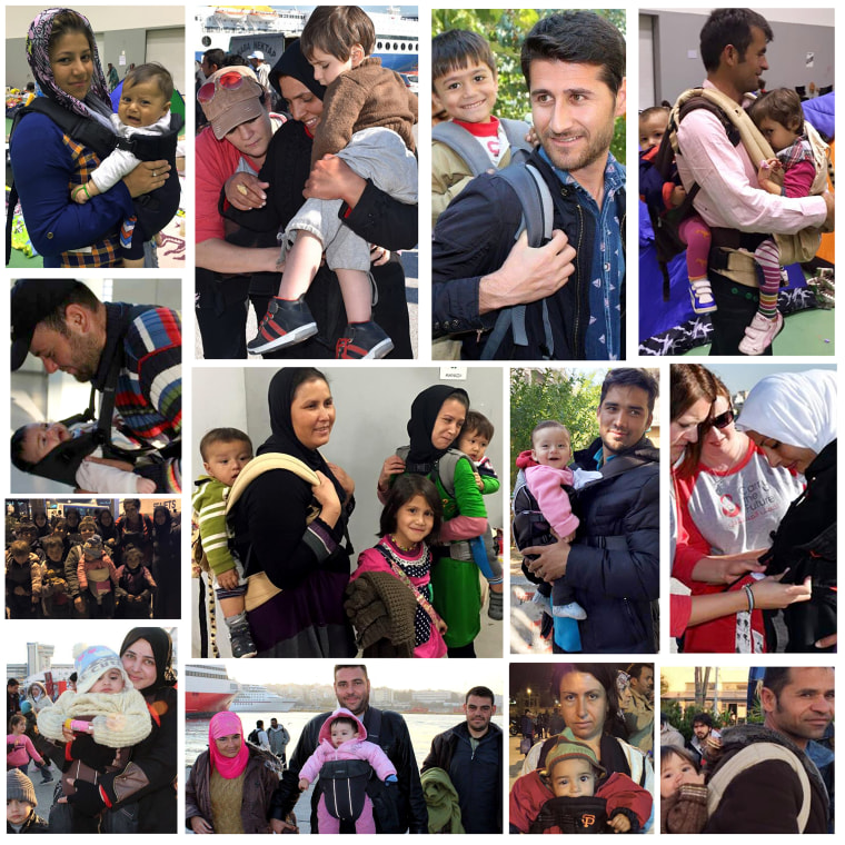 Baby Carriers for Syrian Refugees