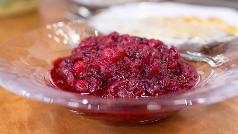 Kelsey Nixon's recipe for cranberry sauce and tangy cranberry salad