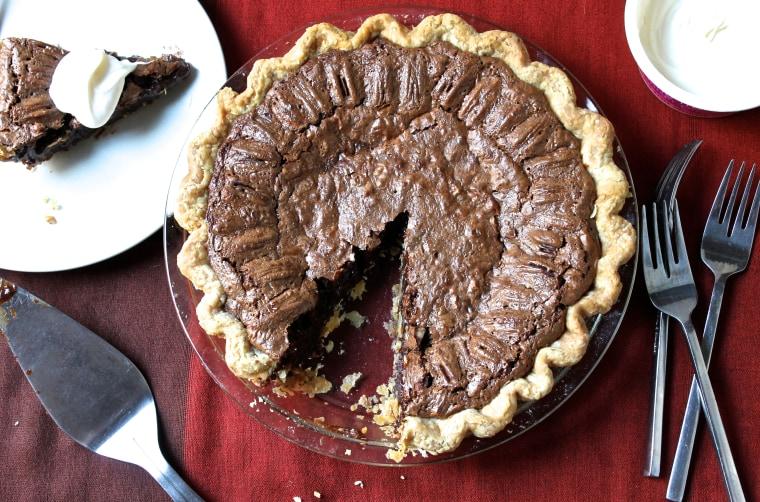Grace Parisi's Chocolate Pecan Pie recipe