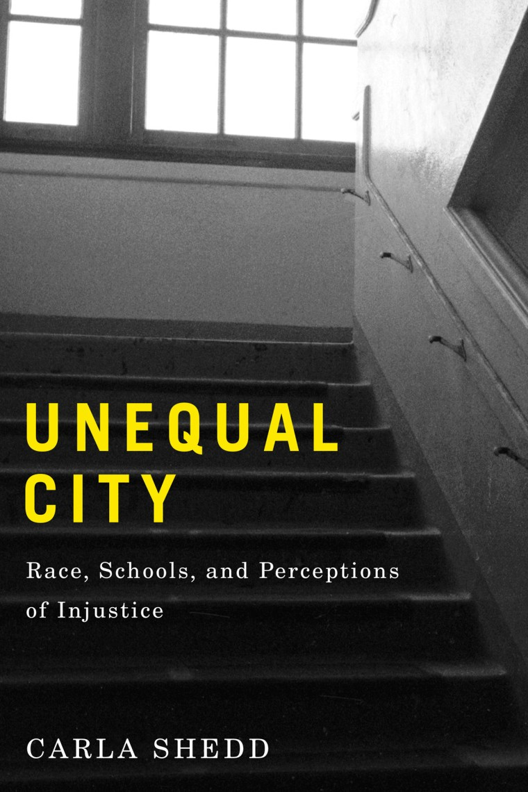 """Unequal City"" book cover."