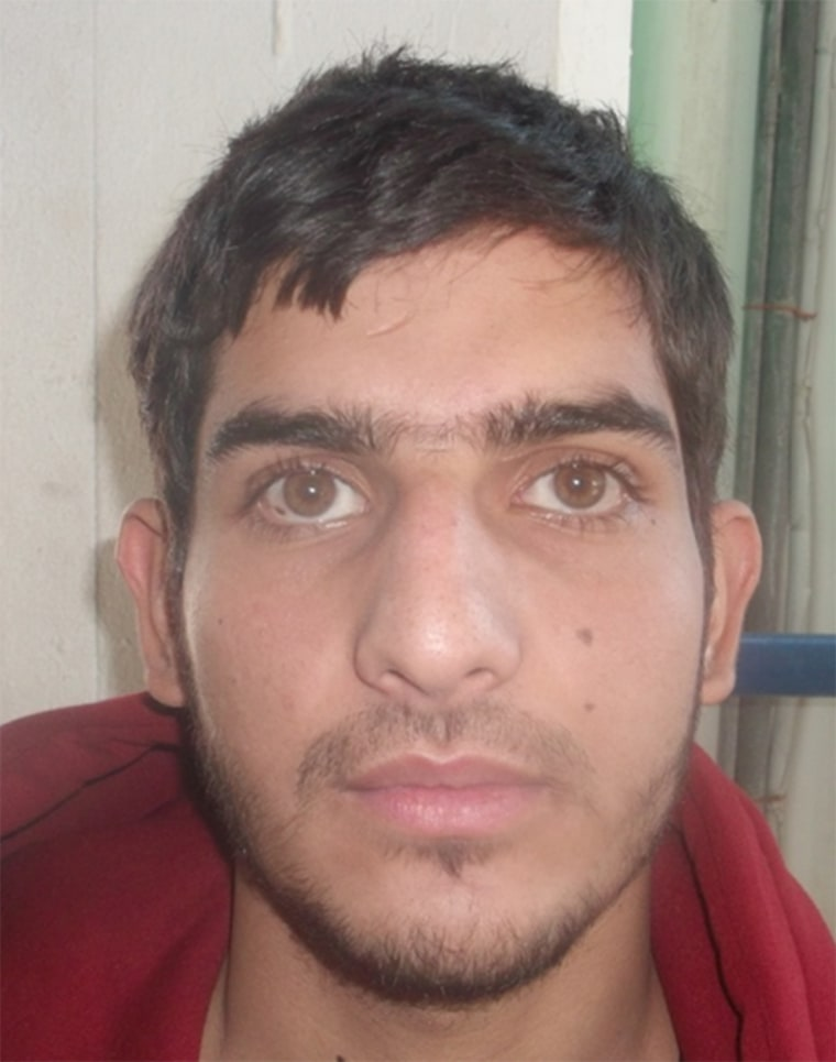 Image: This man's fingerprints match one of the suicide bombers at the Stade de France.