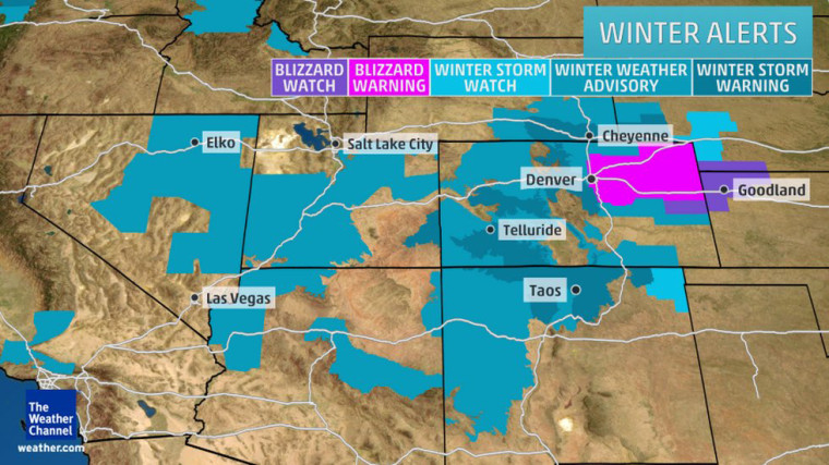 Image: The latest winter weather alerts from the National Weather Service
