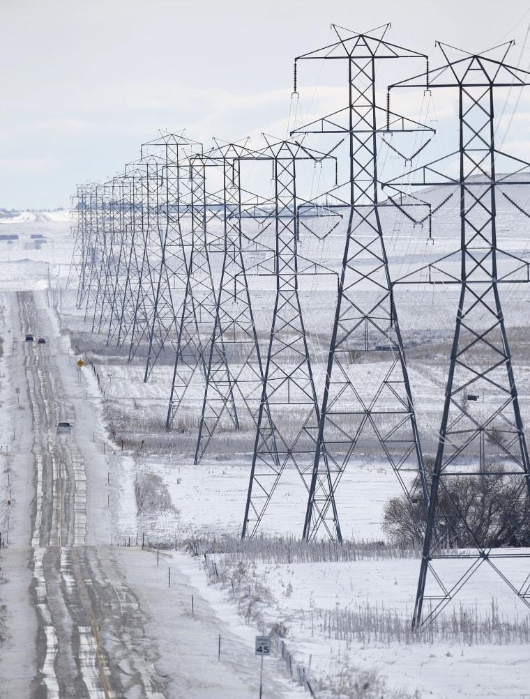 Image: Blizzard in Arapahoe County, Colorado