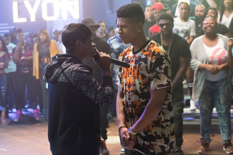 "Image: Guest star Bre-Z and Bryshere Gray in the ""My Bad Parts"" episode of Fox's television show Empire"