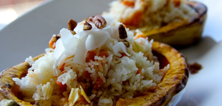"""Chef Kathy Fang says """"no meal feels complete without rice normally."""""""