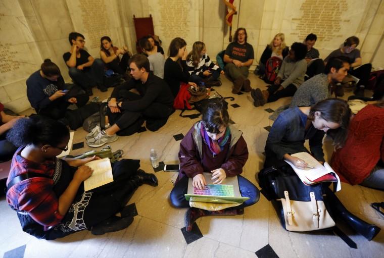 IMAGE: Princeton protest