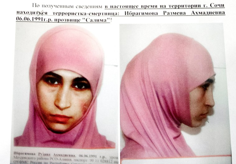 Image: Ruzanna Ibragimova, widow of an Islamic militant