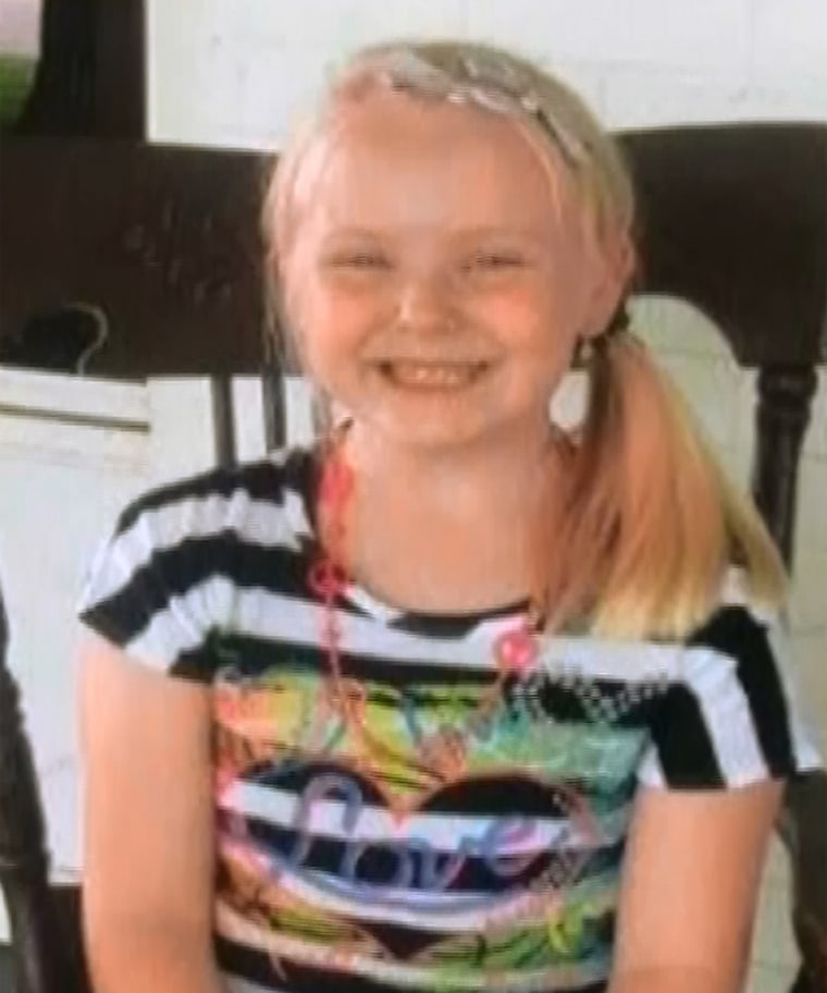 A homicide investigation has been launched into the death of a seven-year-old girl, Gabriella Doolin , whose body was discovered in a creek just 25 minutes after her mother reported her missing.