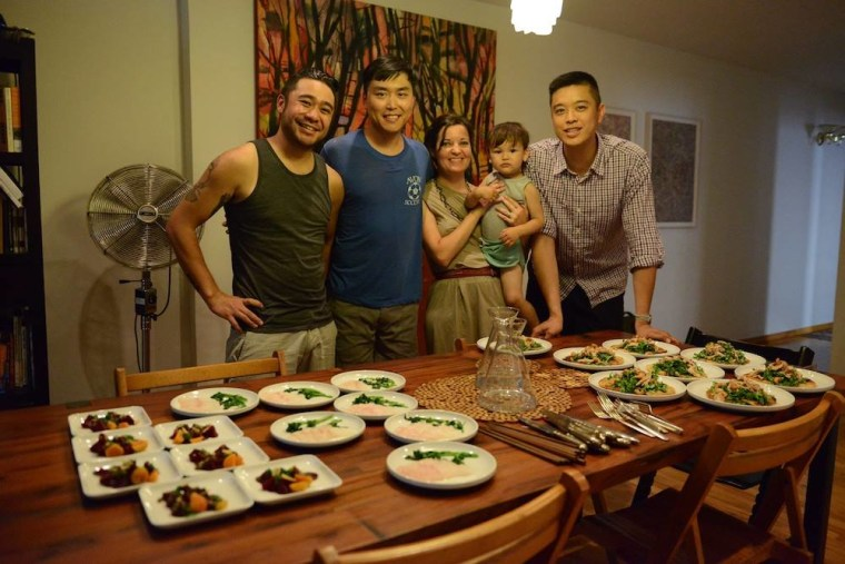"""New York City restaurant Fung Tu, which translates to mean """"wind"""" and """"earth,"""" but means local or hometown flavors, is featured in the new documentary, """"Off the Menu: Asian America."""""""