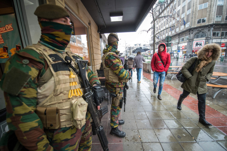 Image: Belgium security level raised due to 'serious and imminent' threat of an attack