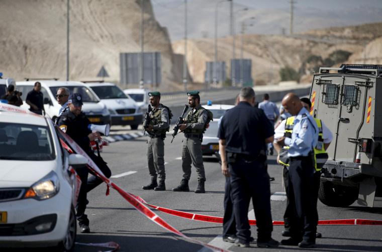 Image: Israeli paramilitary police officers