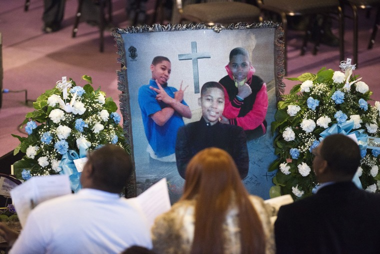 Image: A memorial for Tamir Rice