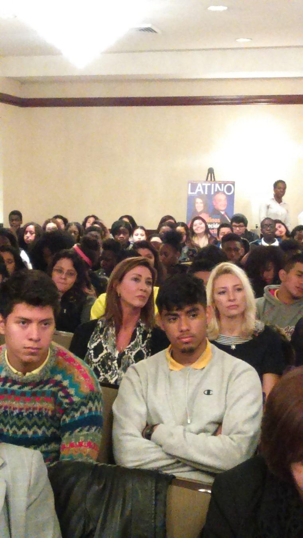 Students at the  6th annual Nuestro Futuro Latino Education Conference.