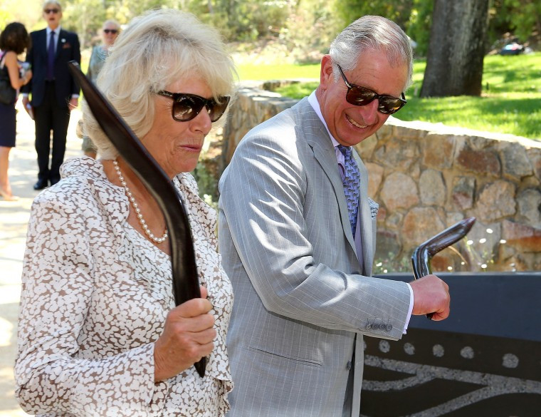 Prince Charles and wife Camilla AUSTRALIA-BRITAIN-NZEALAND-ROYALS
