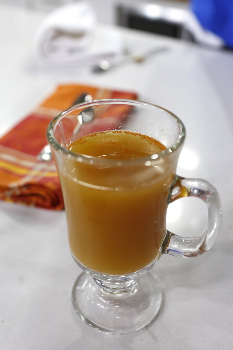 Tamron's Tuesday Trend: Nutrition expert Frances Largeman-Roth adds cayenne pepper to apple cider
