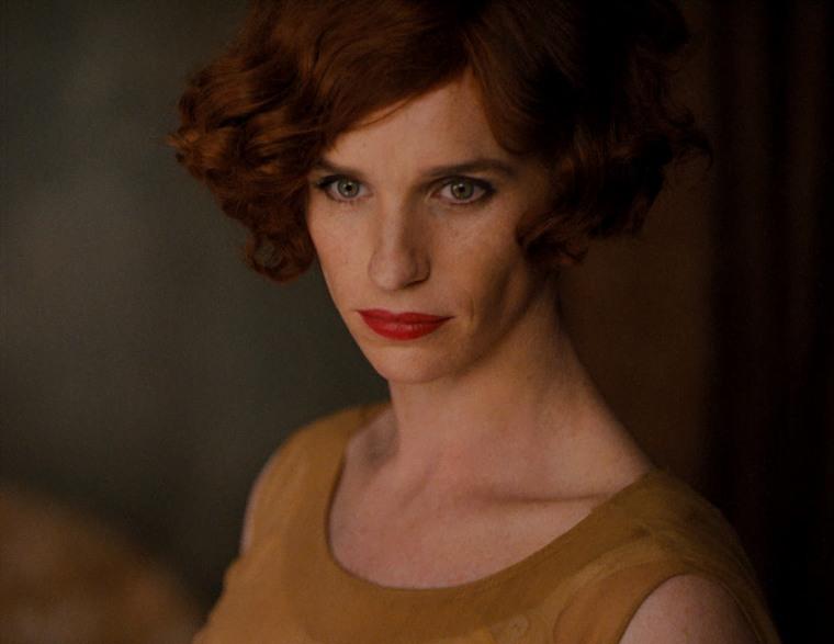 "Eddie Redmayne as Lili in ""The Danish Girl."""