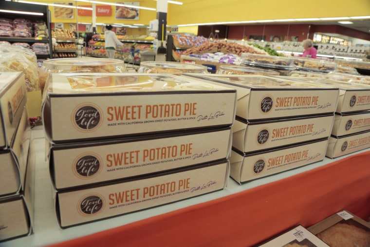 Patti LaBelle's Sweet Potato Pie is sold out at Walmart's throughout the US