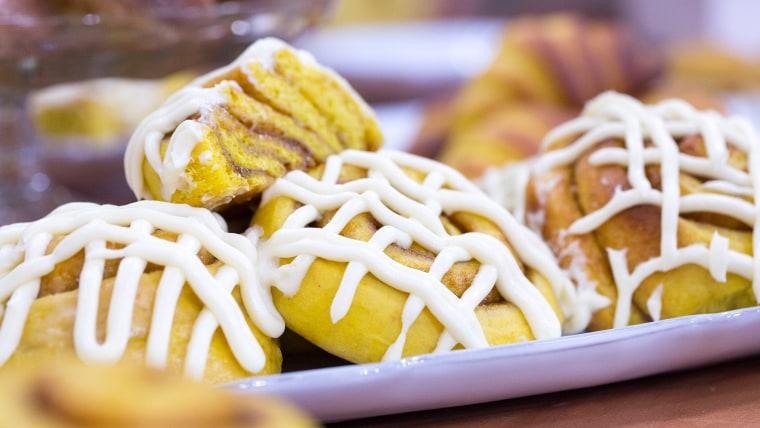 Gesine Bullock-Prado's recipes for pumpkin cinnamon buns and other pastries